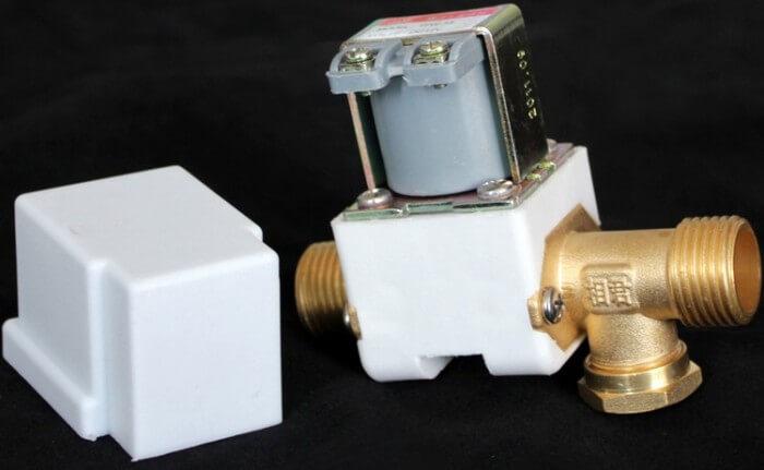 Detectarea gazului cu electroventil gaz